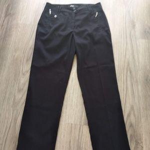 DKNY Golf Pants- Size 4- Black